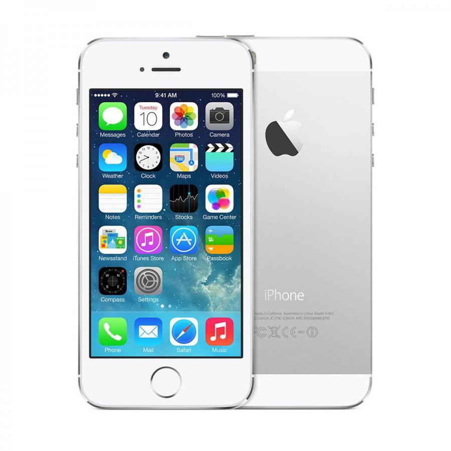 Apple iPhone 5S Sølv 16GB Ulåst Fabrikkrenovert